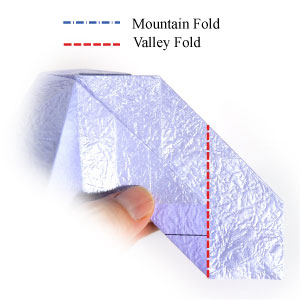 роза оригами из бумаги 66