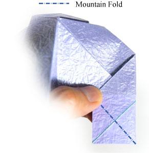 роза оригами из бумаги 67