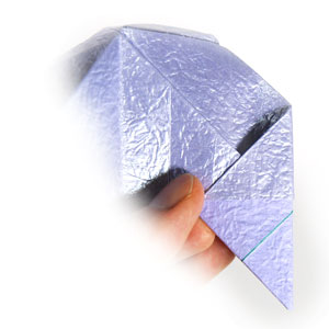 роза оригами из бумаги 68
