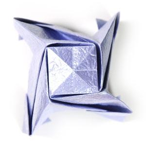 роза оригами из бумаги 70