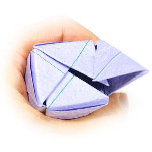 роза оригами из бумаги 75