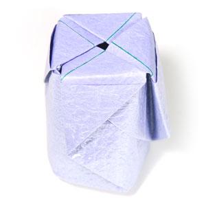 роза оригами из бумаги 77
