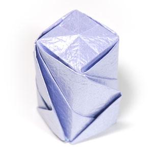 роза оригами из бумаги 78