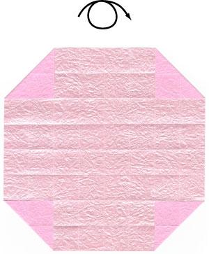 чаша оригами 11