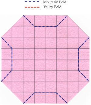 чаша оригами 14