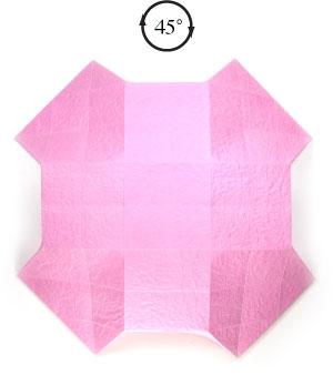 чаша оригами 15