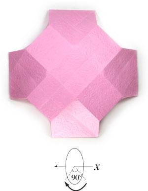 чаша оригами 16