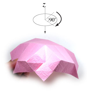 чаша оригами 19