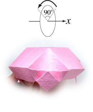 чаша оригами 21