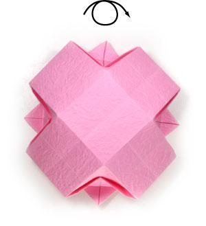 чаша оригами 23