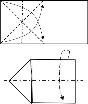 козёл оригами 1
