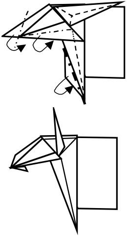 козёл оригами 10