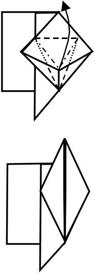 козёл оригами 12