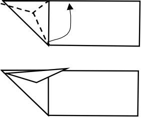 козёл оригами 3