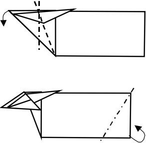 козёл оригами 4