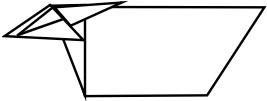 козёл оригами 5