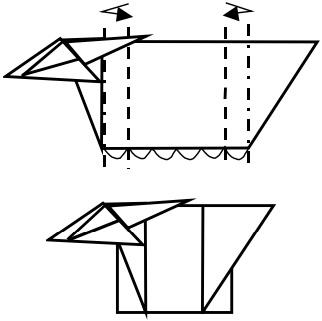 козёл оригами 6