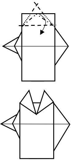 козёл оригами 7
