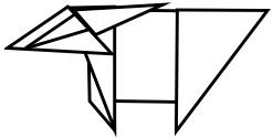 козёл оригами 9