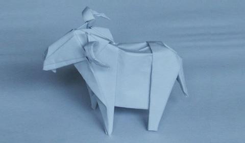 козёл оригами