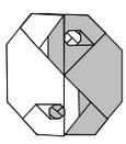 инь янь оригами 18