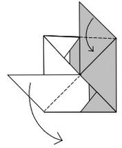 инь янь оригами 9