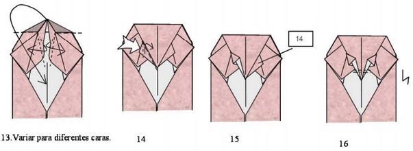 кот оригами 5