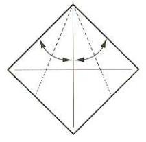 луна оригами 1