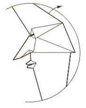 луна оригами 21