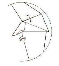 луна оригами 23