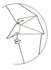 луна оригами 24