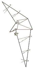 луна оригами 25