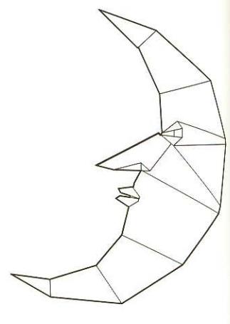 луна оригами 27