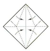 луна оригами 3