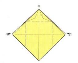 оригами солнце 10