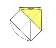 оригами солнце 12