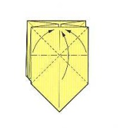 оригами солнце 13