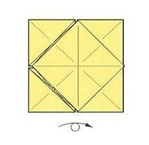 оригами солнце 16