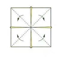 оригами солнце 17