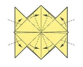 оригами солнце 18
