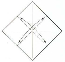 оригами солнце 2