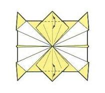 оригами солнце 20