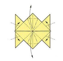 оригами солнце 21