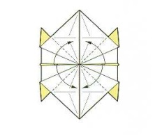 оригами солнце 22
