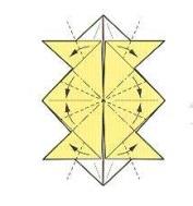 оригами солнце 23
