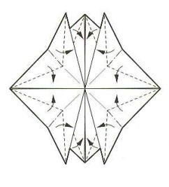 оригами солнце 24