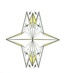 оригами солнце 25