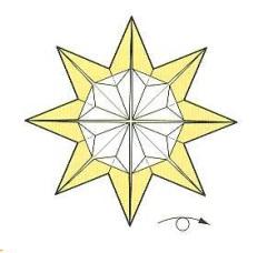 оригами солнце 26