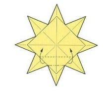 оригами солнце 27