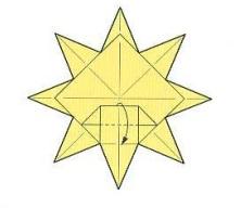 оригами солнце 28